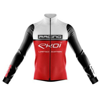 Veste thermique Grand Froid EKOI RACING 0° Blanc Rouge
