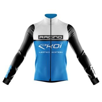 Veste thermique Grand Froid EKOI RACING 0° Blanc Bleu