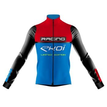 Veste thermique Grand Froid EKOI RACING 0° Rouge Bleu