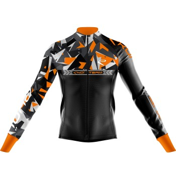 Maillot EKOI TEAM 7° Orange fluo