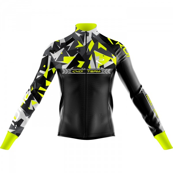 Thermal Jacket  EKOI TEAM 0°Neon Yellow