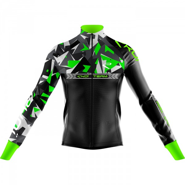 Thermal Jacket  EKOI TEAM 0° Neon Green