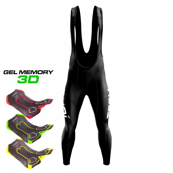 WINTER BIBTIGHTS EKOI TEAM Gel MEMORY 3D