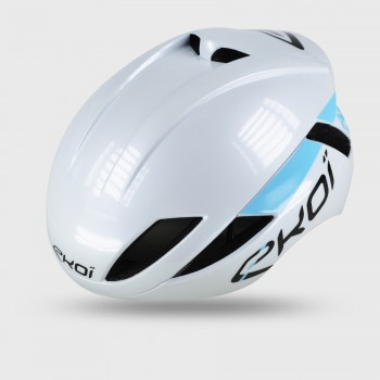 Casco EKOI AR14 Bianco Blu