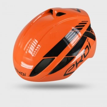 Casque EKOI AR14 Orange noir