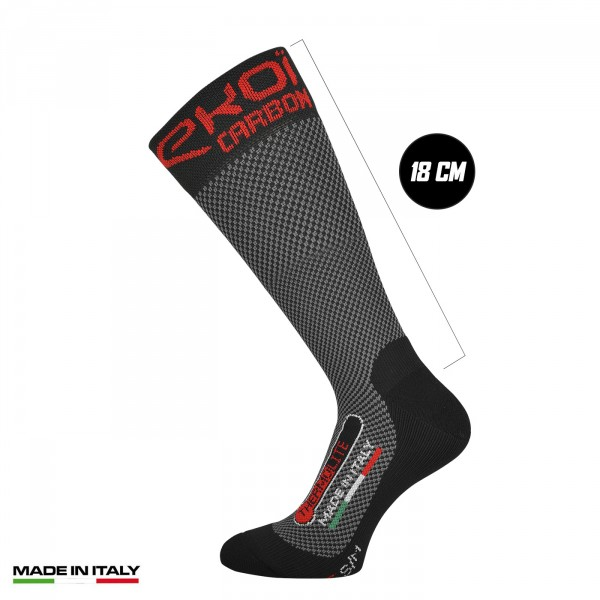 Winter Socks EKOI Thermolite 18cm CARBON FIBER 2