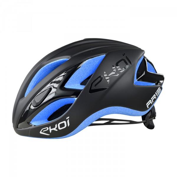 Casque EKOI AR13 Noir EPS Bleu