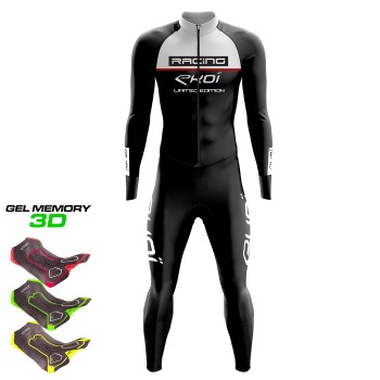 WINTER SUIT EKOI RACING GEL Black/White