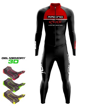 Winter Suit EKOI RACING GEL NOIR Red