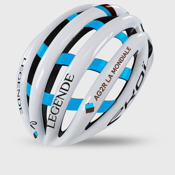 EKOI PROTEAM ヘルメット LEGENDE - AG2R LA MONDIALE Pro Cycling Team 2020 モデル