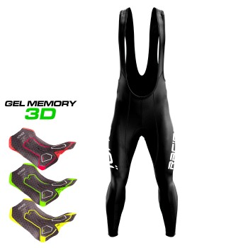 Winter  bibtights  EKOI WR RACING Gel Memory 3D