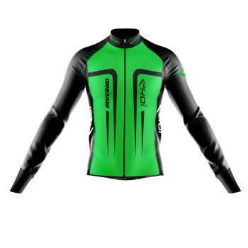 Winter  Jersey  EKOI INVERNO Neon Green