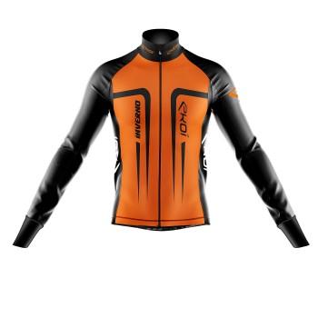 Veste thermique HIVER EKOI INVERNO orange fluo