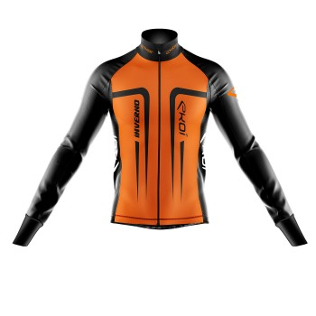 Thermal Winter  Jacket  EKOI INVERNO Neon Orange
