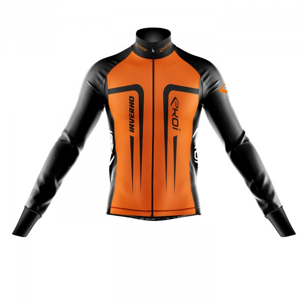 Veste thermique EKOI INVERNO 0° Orange fluo