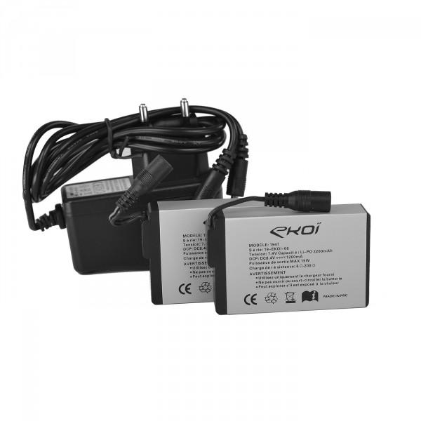 Kit Batteries EKOI HEAT Concept EVO 2