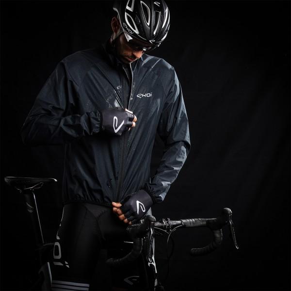 Veste vélo Coupe-vent EKOI ULTRA LIGHT Noir