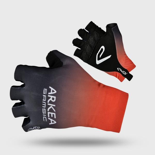 Rękawice kolarskie szosowe EKOI Proteam ARKEA SAMSIC