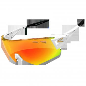 Okulary EKOI PERSOEVO10 LTD Białe Revo Czerwone