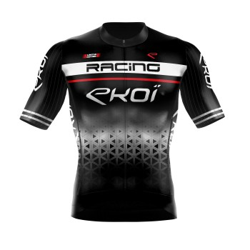 Zomershirt EKOI RACING LTD zwart