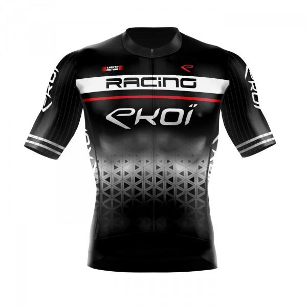 Czarna koszulka na lato EKOI LTD RACING