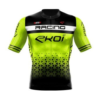 MAILLOT EKOI RACING LTD JAUNE FLUO