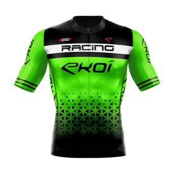 Koszulka na lato EKOI LTD RACING Zielona neonowa