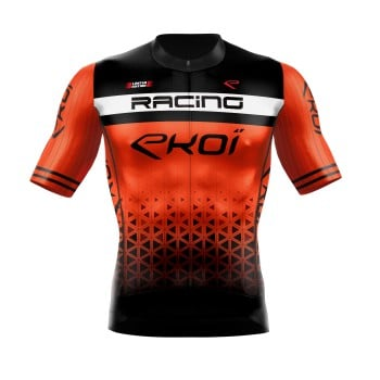 Maillot été EKOI LTD RACING Orange fluo