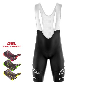 BIBSHORTS  3D GEL EKOI RACING LTD BLACK
