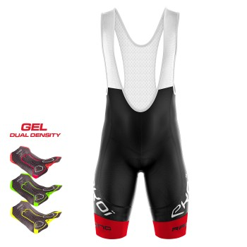 Cuissard 3D GEL EKOI LTD RACING Rouge