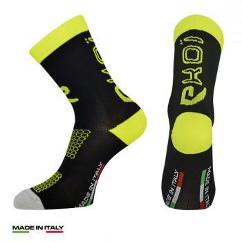 EKOI CARBON CONCEPT mustakeltaiset sukat