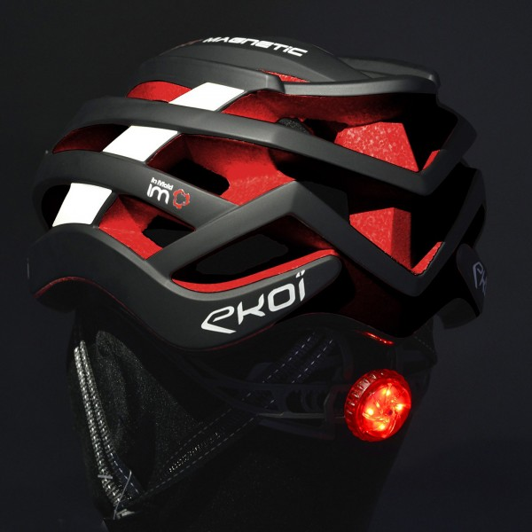 Maintien occipital EKOI Corsa Light FLASH LED