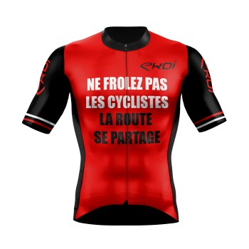 MAILLOT EKOI SAFETY FRANCE ROUGE