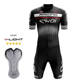 EKOI LTD RACING GEL -skinsuit, musta