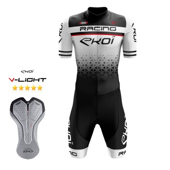 EKOI LTD RACING GEL -skinsuit, valkoinen