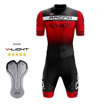 EKOI LTD RACING GEL -skinsuit, punainen