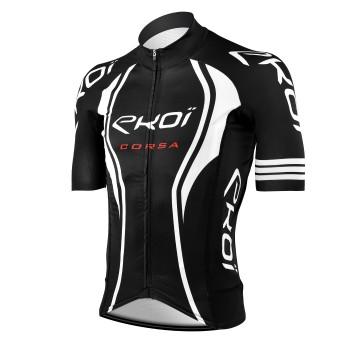 Maillot vélo EKOI CORSA LTD Noir