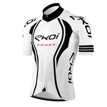 Maillot vélo EKOI CORSA LTD Blanc