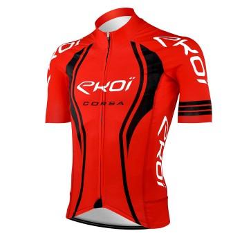 Maillot vélo EKOI CORSA LTD Rouge
