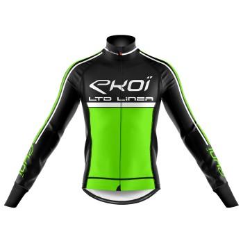 Winter Thermal jacket EKOI LINEA LTD Neon Green