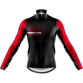 EKOI AERO LINE THERMAL JACKET BLACK RED