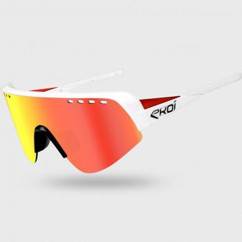 Brýle EKOI TWENTY LTD Bílá/Červená Cat3 HD Červená
