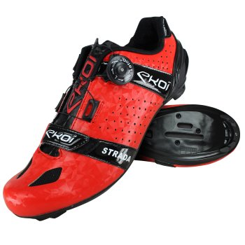 EKOI Strada Cristal Red road shoes
