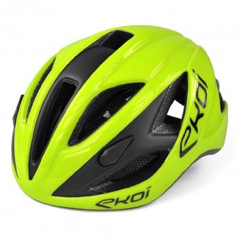 EKOI AR13 Yellow fluo helmet