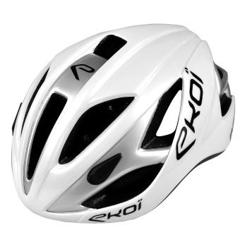 EKOI AR13 valkoharmaa pyöräilykypärä