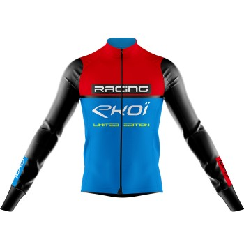 Maillot EKOI RACING 7° Rouge Bleu