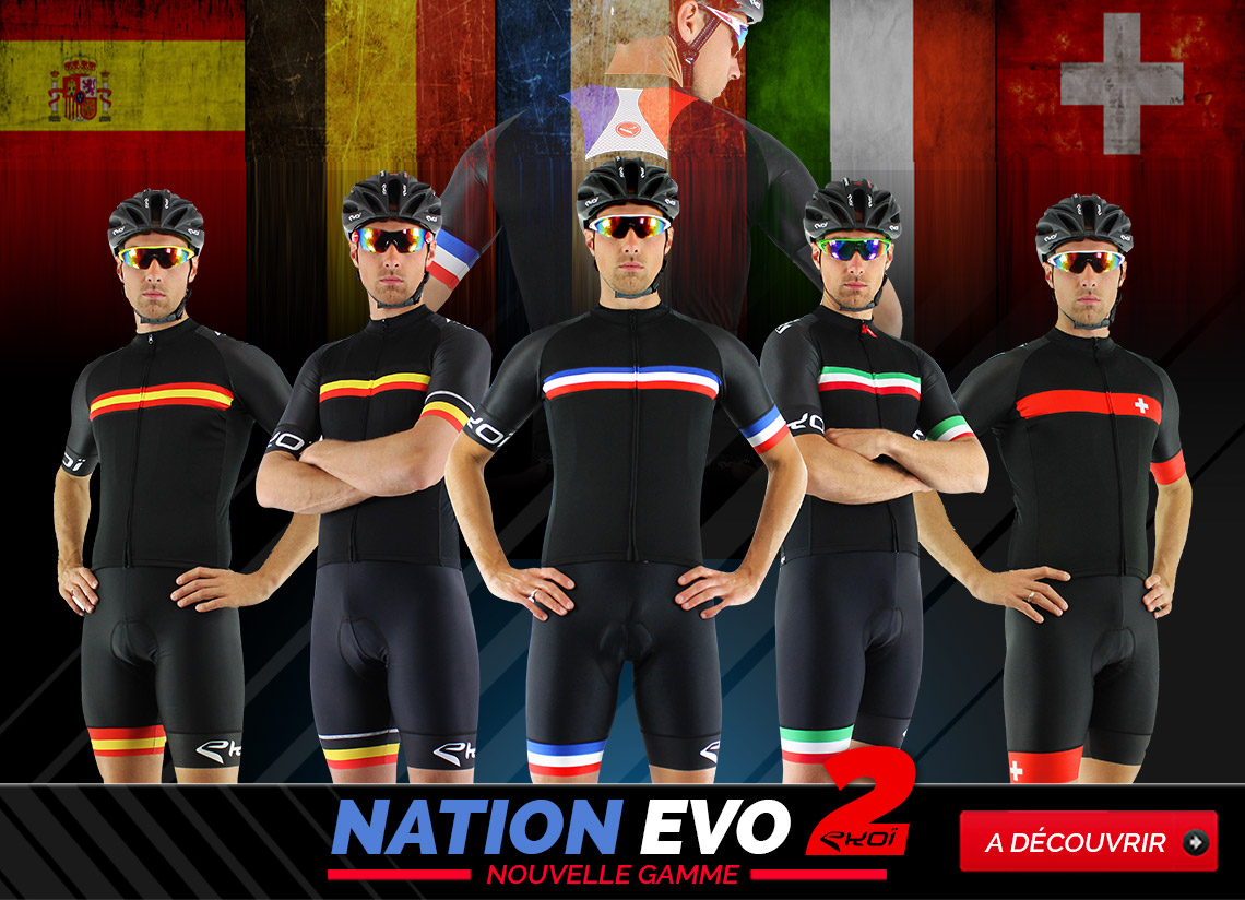 Nouvelle tenue EKOI Nation EVO2