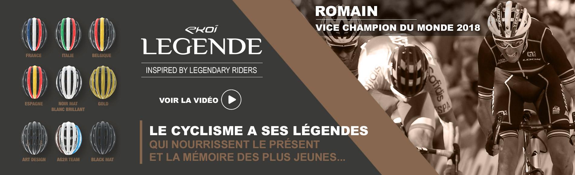 Casque EKOI LEGENDE Romain Bardet