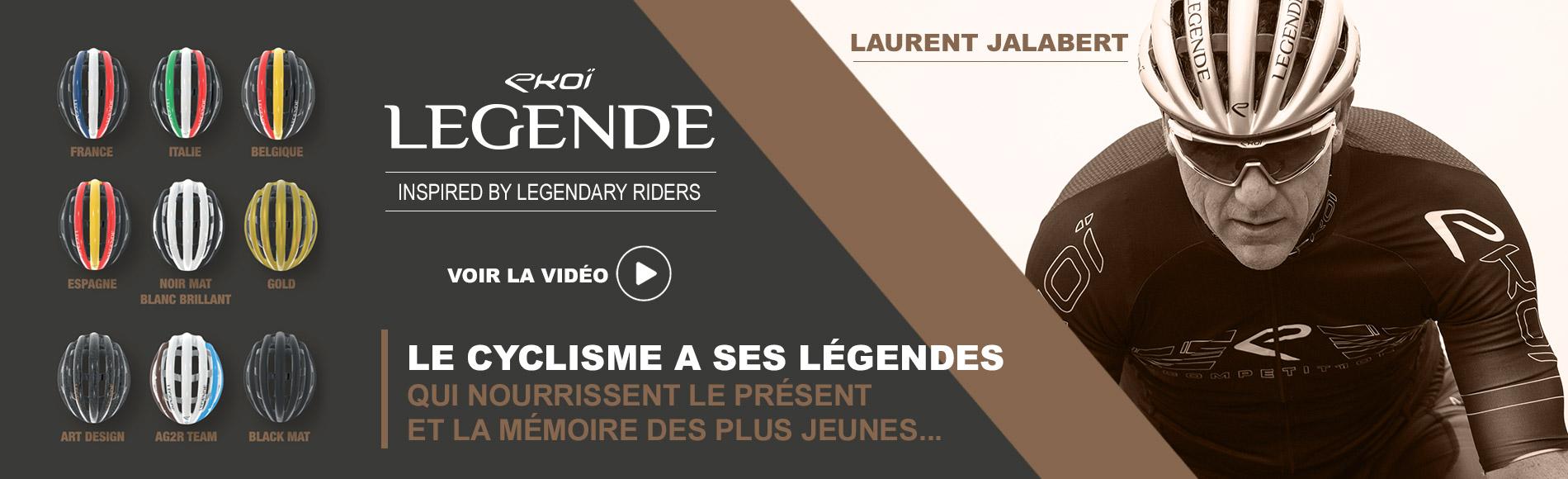 Caque EKOI LEGENDE Laurent Jalabert