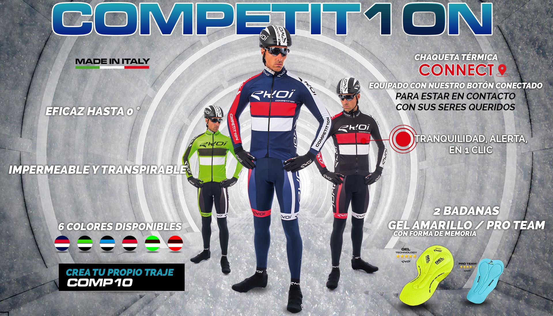 Nouvelle gamme hiver EKOI Competition10